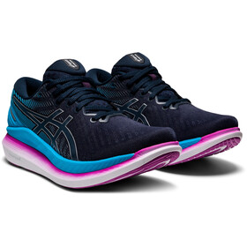 asics Glide Ride 2 Shoes Women, french blue/digital aqua